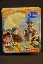 Set of 2 Fisher Price Jake Neverland Pirates set of 2 HIGH FLYING JAKE and HOOK