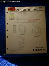 Sony Service Manual KP 61PS1 / 53PS1 / 48PS1 Projection TV (#3265)