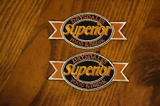 Drysdales Superior Food & Drink - Set of 2 Uniform Patches NEW