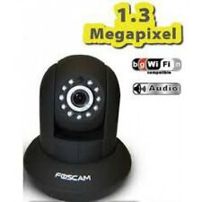 TELECAMERA IP WIFI FOSCAM FI9831P PER INTERNI nera 1.3 Mp HD 960P  NIGHT VISION