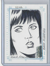 XENA Art & Images Hand Drawn Sketch Card SketchaFEX by Emir Ribeiro