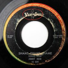 HEAR Jimmy Reed Shame Shame/There'll Be A Day VEE-JAY 509 R&B blues rocker