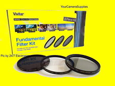 Filter Kit 62mm ND8 UV CPL To NIKON 105mm f/2.8G 70-300mm Neutral Density 8 C PL