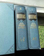 Brockhaus' Kleines Konversations-Lexikon (1906) Reprint 2000 Faksimile gebunden