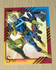 2015 Marvel Fleer Retro base autograph Star-Lord #50 Mark Bagley