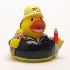 """Badeendje Brandweerman """"112"""" Rubber Duck Badeend"""