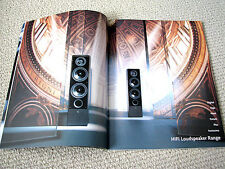 Canton 1999 speakers full product line brochure catalogue