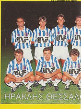 N°137 TEAM IRAKLIS THESSALONIKI GREECE PANINI GREEK LEAGUE FOOT 95 STICKER 1995