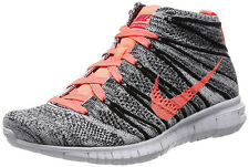 NIKE FREE FLYKNIT CHUKKA BLACK/BRIGHT MANGO UK 8,5 US 11 woven 639699-002 lunar3