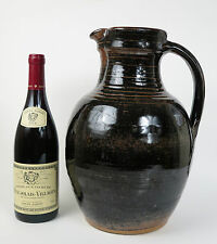 Ray Finch studio pottery monumental cider jug c1990. Winchcombe pottery