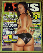 AS IS Magazine Sexy DRENA Da DREAM Hot CAYENNE La Rhonda MIKO Prison & St Gangs
