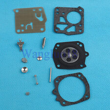 Carburetor Carb Overhaul Rebuild Kit Fit Husqvarna Chainsaw Tillotson RK-23HS