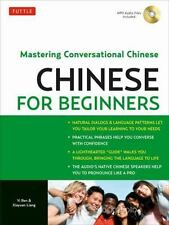 Chinese for Beginners: Mastering Conversational Chinese Audio CD Included
