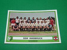 PANINI EURO FOOTBALL 78 N°194 SSW INNSBRUCK ÖSTERREICH AUTRICHE 1977-1978