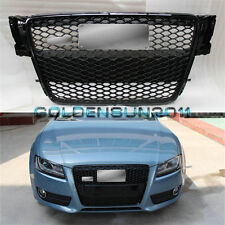 RS5 Front Sportback Sline Gloss Black Grille For Audi A5 S5 8T SFG 2008-2012