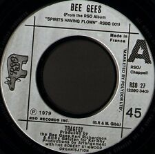 """BEE GEES tragedy 7"""" WS EX/- noc french rso RSO 27"""