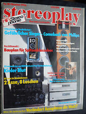 STEREOPLAY 10/86. ACCUPHASE DP 80,DC 81,YAMAHA T 85,NAIM NAT 01,MISSION CYRUS,