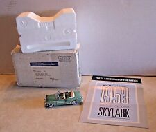 Franklin Mint Classic Cars of the Fifties 1953 Buick Skylark 1:43 w Box & Paper