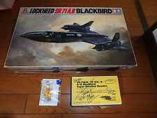 1/48 SR-71 SR-71B by TAMIYA ITALERI + CUTTING EDGE EXHAUST + OPI PILOT RSO