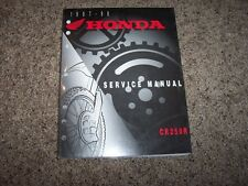 1997 1998 Honda CR250R CR 250 R Motorcycle Dirt Bike Shop Service Repair Manual