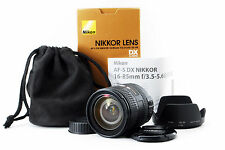 [Exc] Nikon NIKKOR 16-85mm f/3.5-5.6 DX G SWM AF-S VR IF M/A ED Lens from JAPAN