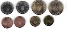 ROMANIA: 4-PIECE UNCIRCULATED 2005 COIN SET, 1 TO 50 BANI