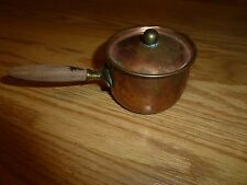 Copper Pot and Stand with Tea Light