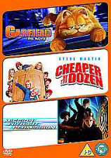 Garfield: The Movie/Cheaper By The Dozen/Mission Without... [DVD], New DVD, Ryan