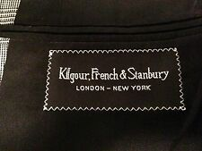 Kilgour, French, and Stanbury Barney's NY Fine Tailored Classic Checked Suit 40R