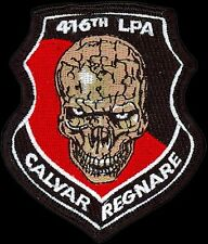 USAF 416th FLIGHT TEST SQ.LIEUTENANT'S PROTECT AEROSPACE EDWARDS AFB TEST PATCH