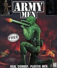 Army Men PC Computer Video Game 3DO Military Animated Violence Sarge Tanks Air