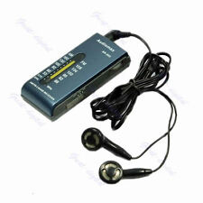 Portable New AM/FM 2 Band Pocket Radio Receiver +Earphone B