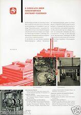 Couleurs siegle Feuerbach xl publicité 1956 stuttgart couleurs usine verni Besigheim AD