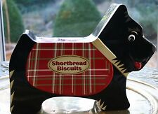 WONDERFUL SCOTTISH TERRIER  SHORTBREAD BISCUITS TIN c2012 - SILVER CRANE LTD