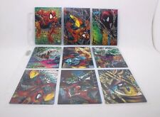 The McFarlane SPIDER-MAN Marvel 88 trading cards full 1992