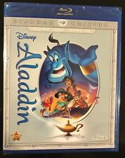 Aladdin (Blu-ray/DVD, 2015, 2-Disc Set, Diamond Edition) Brand New N0 SLIP COVER