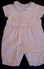 SWEET POTATOES Boutique Baby Girl One Piece Linen Romper 24 Months #607