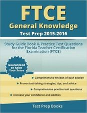 FTCE General Knowledge Test Prep by FTCE Study Guide Prep Team [Paperback] NEW