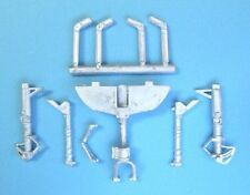 F9F Panter Landing Gear for 1/48th  Scale Trumpeter Model SAC 48179