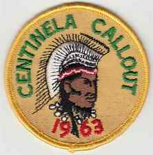 B785 OA BSA Scouts SIWINIS 252, CENTINELA CHAPTER, CALL OUT 1963