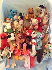 Ty Beanie Babies Lot of 31 All Retired Animals 1993 to 2002 3+ Boys Girls $31.99