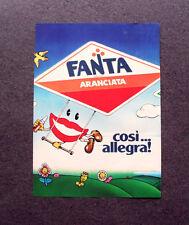 [GCG] M465 - Advertising Pubblicità - 1979 - FANTA ARANCIATA , COSI' ALLEGRA !