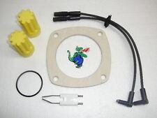 Weishaupt WL 10 Set: 1 Zündelektrode 1 Zündkabel Paar 1 Flanschdichtung Ölfilter