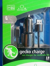 Usb Car Charger suits IPhone, Ipod, Nintendo DSI Car Charger, 2 Metre usb Cord