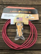 LAVA Cable RED Tightrope Solder-Free Pedal Board Kit 10' Cable Stripping Tool