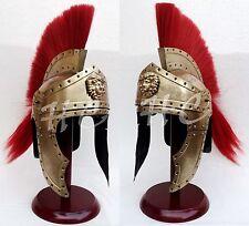 Mittelalterlicher Wikinger Rüstung Helm König Leonidas Spartaner Messing Helm