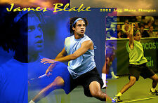 James Blake Tennis Limited Edition 12x18 Poster