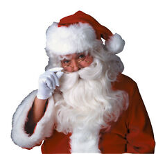 Adult Deluxe Santa Clause Wig Beard Mustache Christmas Costume Accessory