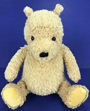 "Gund Disney Classic Winnie Pooh Bear 8"" Plush Stuffed Animal #8044 Velvet Feet"