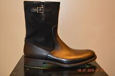 Magnanni Brown Leather Mens Engineer Boot Size 9.5